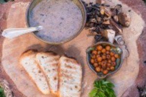 Svampenes fyldige suppe