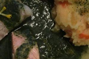 Fisk med nældesauce
